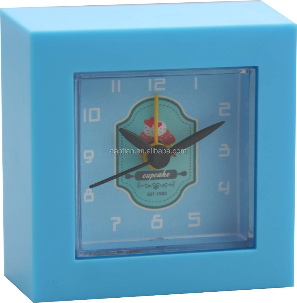 cheap price promotion clock good quality abs alarm clock table clock