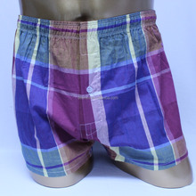 Non-elastic 100% polyester boxer old man extra large underwear boxer