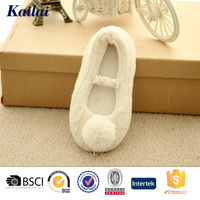 corchet knitting dancing shoe made in china