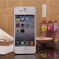 0.33mm 9H flat edge Premium HD tempered glass screen protector for iPhone 4, for iphone 4s screen protector