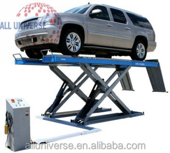 chinese scissor car hydraulic lifts with CE