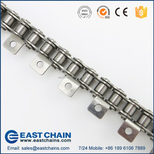 ANSI ISO A B series short double long pitch 304 stainless steel transmission conveyor roller plate chain K1 K2 SA attachment