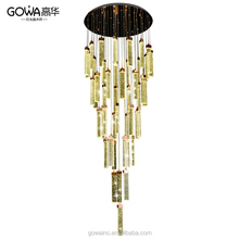 Modern bubble crystal lamp led chandelier pendant lamp with CE