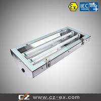 Metal Enclosure Zone 1 Explosion Proof(Emergency) 2x14(28)W/2x28(36)W Fluorescent Light Fittings