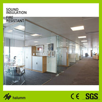 Single glass partition walls for interior screen divider sliding doors interior room divider office wall partitions