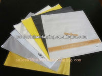 clothing packaging bag with zipper/clothes packaging bags/PVC slider bag