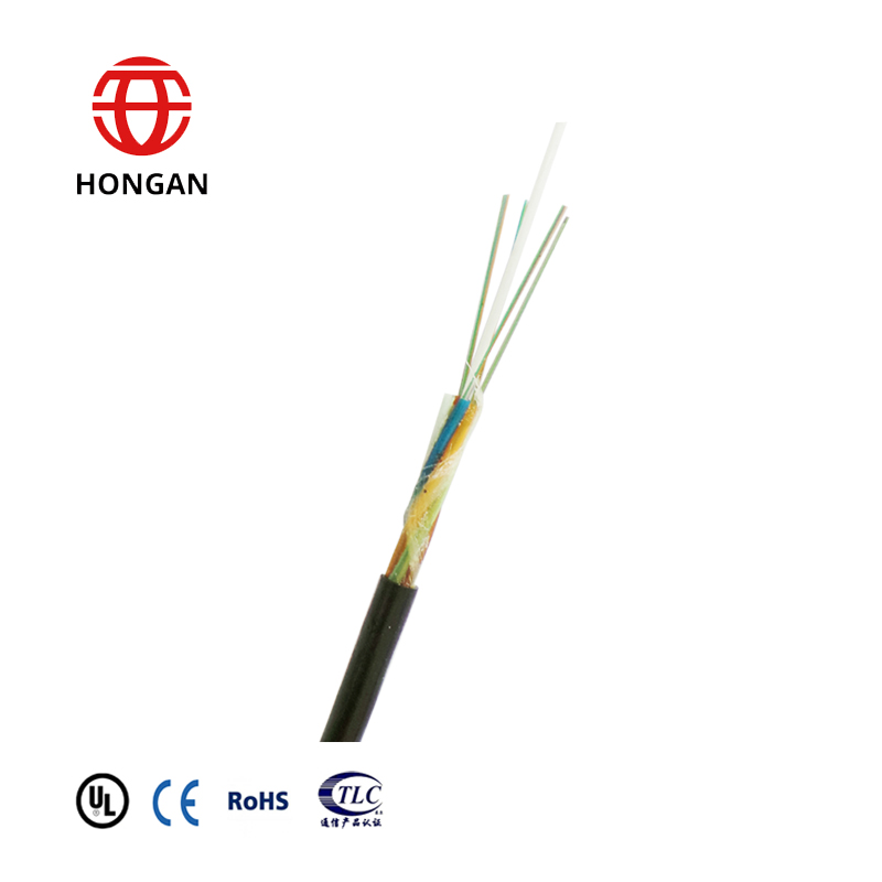GCYFY outdoor air blowing micro duct 7 way optical fiber cable