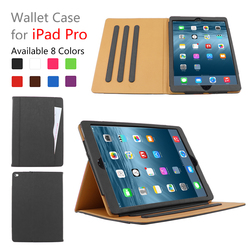 Hot New Product Folding Stand Leather Tablet Cover Case , 12.9 Inch Case Smart Cover for iPad Pro case