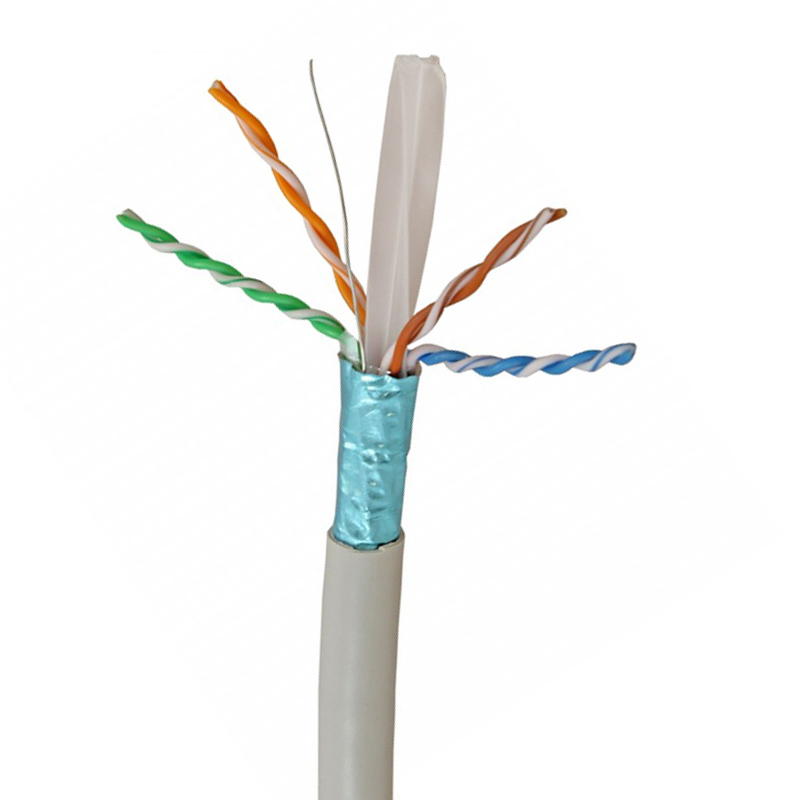 in-wall rated (cm) 250MHz multi core bare copper <strong>1000</strong> ft BC 23AWG STP Cat6 ethernet the <strong>cable</strong>