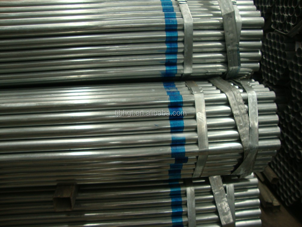 Galvanized water steel pipe gi conduit various sizes buy