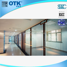 New design fashion low price office door with glass window