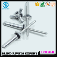 HIGH QUALITY FACTORY ROOFING RIVETS WITH RUBBER FOR ROOFING
