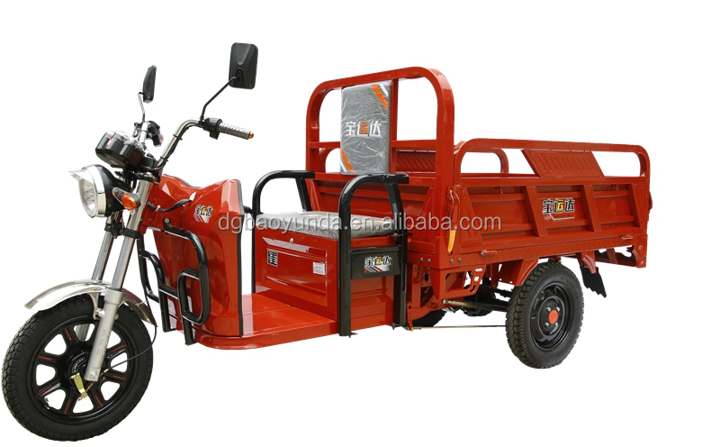 3 wheel electric tricycle cargo delivery goods truck tricycle for business