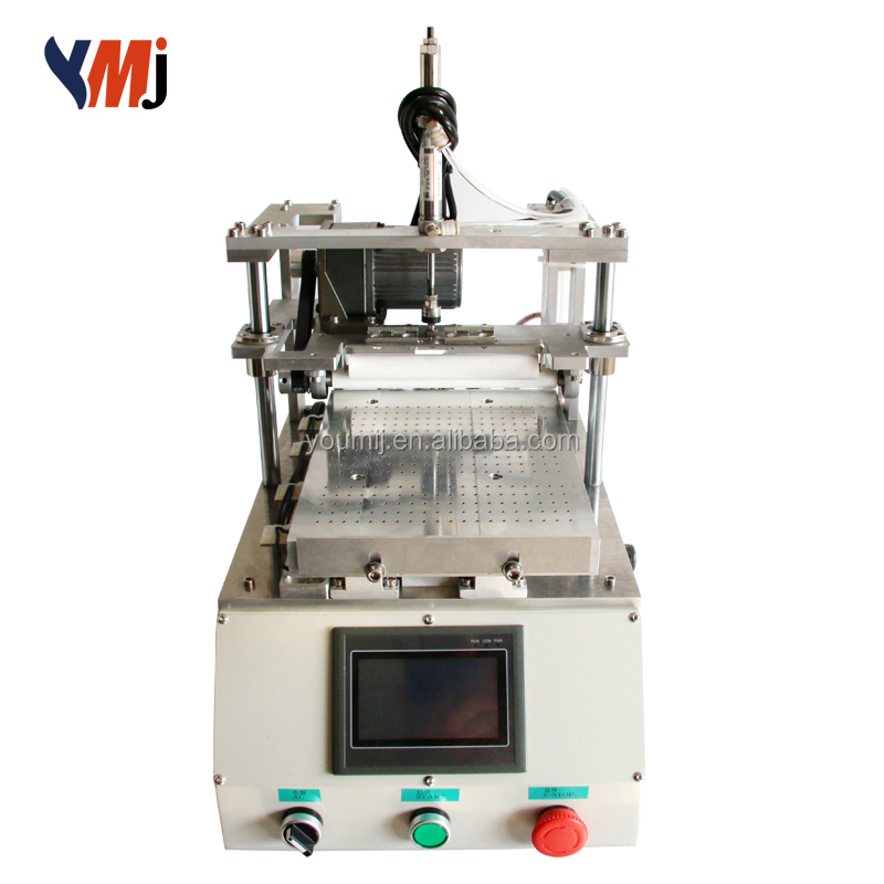 220V/110V YOUMIJIA automatic glue remove machine Touch screen oca lcd glue remover for PAD lcd refurbishing machine
