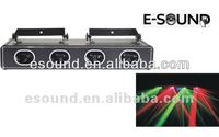 New 4 Head Green&Red Cheap dj Laser Lights