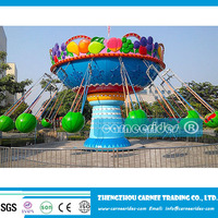 Entertainment park rides fruit flying chair hot sale, watermelon flying chair rides