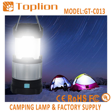 Factory wholesale high quality lamp camping survival smart led