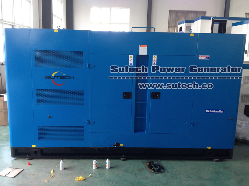 China suppliers 250KVA/200KW silent Type Diesel used Generator Set for sale Manufacturer