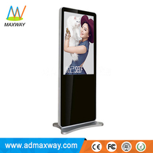 49 Inch Floor Stand Windows Linux Android Flat Screen Tv For Advertising