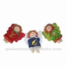 Singing Angel Christmas Ornament