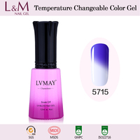 Hot Selling Chameleon Gel Polish UV Nail Polish Magic Change Color Gel Nail