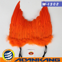 nice looking white big feather angel wing for dancing party--China supplier W006