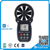 Digital Tset wind meter anemometer Air Flow Anemometer for wind speed and wind direction