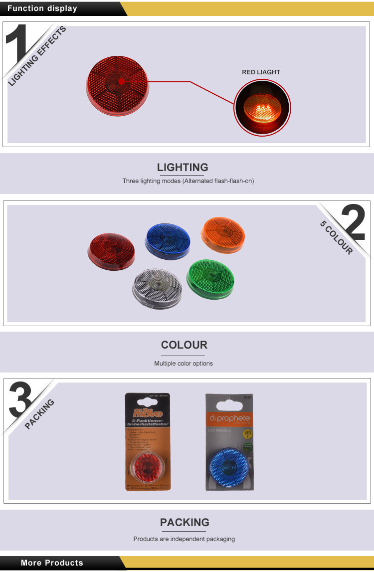 Professional manufacture factory directly construction warning barricade light