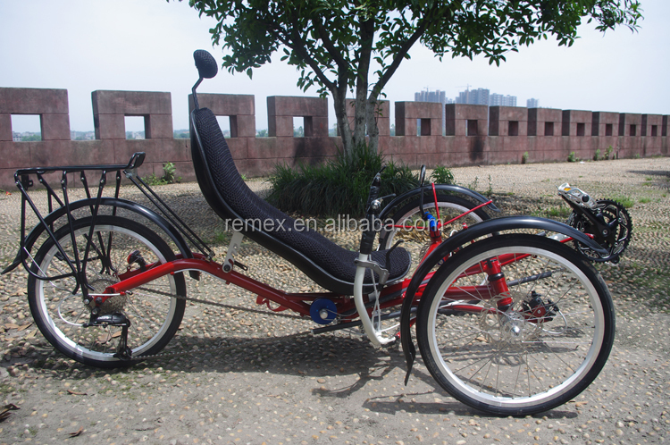 Exercise Type adult three wheel recumbent Bicycle