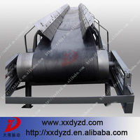 Round tube belt conveyor for coal