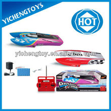 3 channels gas power rc boat
