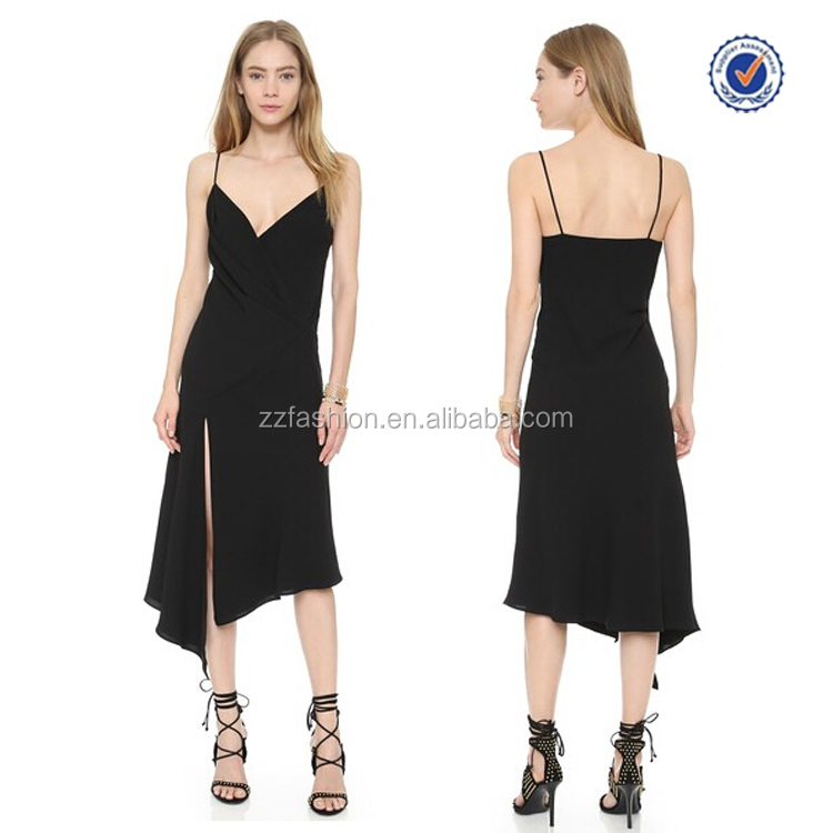 China supplier Alibaba high fashion asymmetric midi sexy party dresses uk