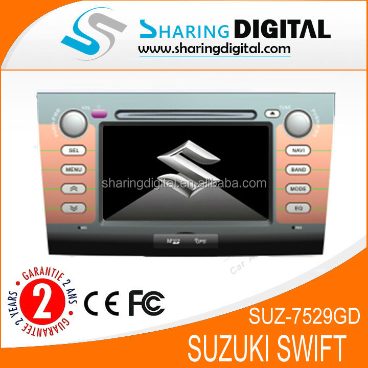 """SUZ-7529GD car dvd player gps SUZUKI SWIFT 2004-2010 dvd navigation """