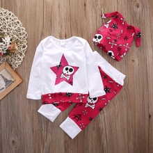 Stars Girl Infant Top Pants Outfits Baby Clothing Sets Girls Dress Names With Pictures
