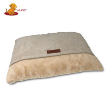 China Wholesale Latest Design Superior Quality Soft Pet Bed Pillow