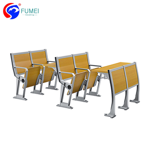 Plastic College Classroom Chairs, School Student Tables And Chairs, University Furniture College Desk And Chairs