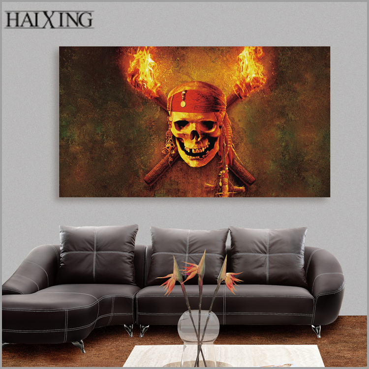 Custom size canvas print oil painting art photo spray printing on canvas for living room wall decor