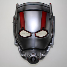 X-MERRY Adult size half face plastic Ant-Man pvc mask funny party costume halloween canival mask