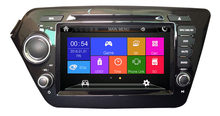Car DVD GPS+Navigation System and 2 DIN Car Radio CD Player for K2 RIO 2011 2012 2015 DVD GPS Radio CD Player