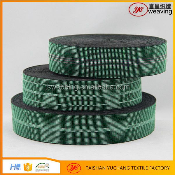 Sofa Furniture material Elastic webbing for garden chairs