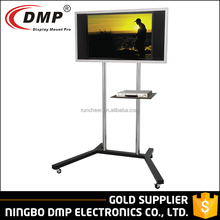 "FS402 DVD Metal Adjustable Unique Lowes Tv Trolley Stand for 30"" ~ 50"" TV Size"