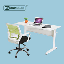 SGS Approved White Ergonomic Modern Office Sit to Standing Table Photos