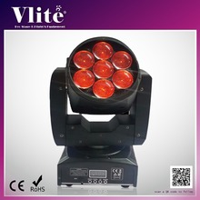 Commercial Promotion 7 x 12W Zoom Wash Beam Effect LED Moving Head