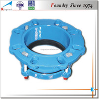 Custom ductile iron pipe coupling,cast ductile iron pipe connection