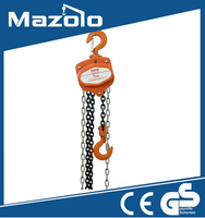 Promotion 1 ton Chain Block with CE, GS, TUV Approved Manual parts of chain block