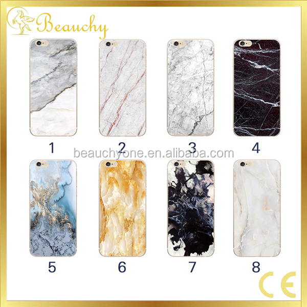 Mobile accessories phone marble phone case for iphone 7 and iphone 7 plus kim