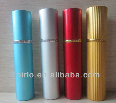 10ml/ 0.33oz Aluminium atomizer for perfume