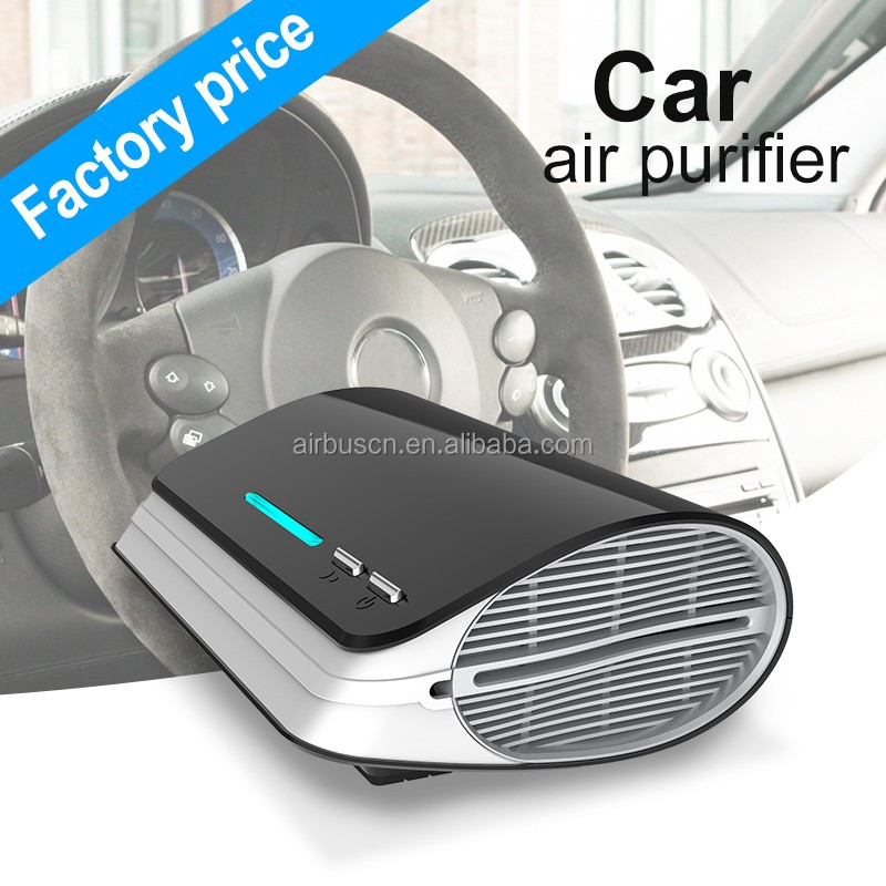 Airbus aromatherapy ozone generator uv anion air purifier hepa portable electronic car air cleaner