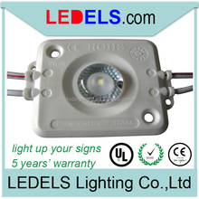 Back lighting signage led lights powered by original Nicha led 12v 1.6w with lens and UL E468389