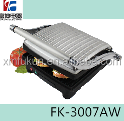 Stainless Steel Housing Material Panini Grill